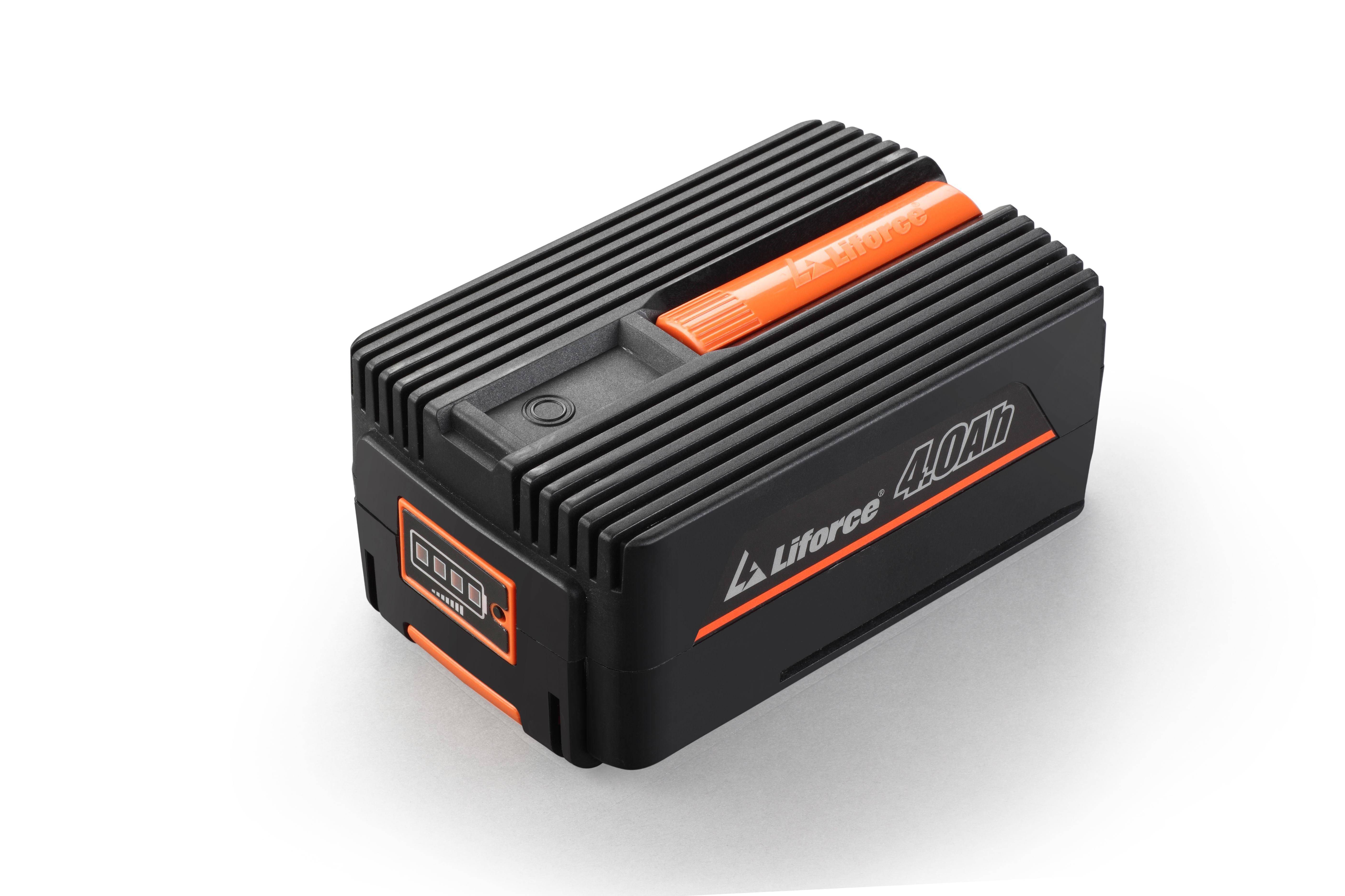 Set Redback suflanta funze E435C 40V + acumulator Li-Ion EP40 40V/4Ah + incarcator EC20 40V/2A 1