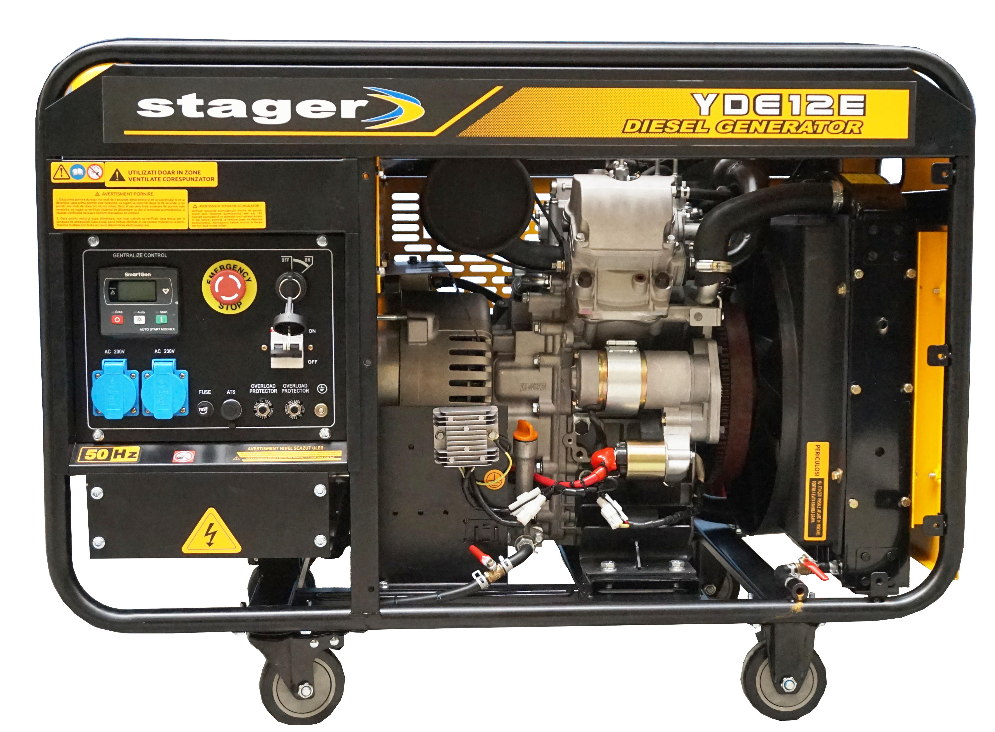 Generator uz general Stager YDE12E, diesel 0