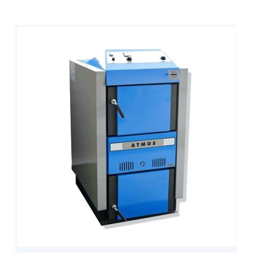 CAZAN PE COMBUSTIBIL SOLID ATMOS DC50SR + CADOU supapa termica de descarcare STS20 si Salopeta de lucru 0