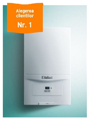 Centrala termica in condensare Vaillant Ecotec Pure VUW 236/7-2 23 kW cu montaj inculs in Bucuresti si Ilfov 1