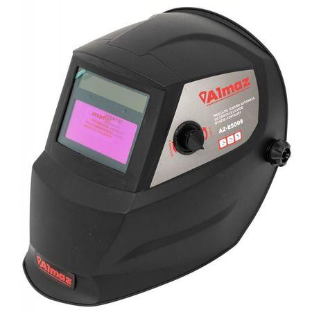 Aparat de sudara profesional Proweld MMA-220DLS-LCD cu masca de sudura cu reglaj automat Almaz BY433E-CENTAURY, DIN4/DIN9-13 1