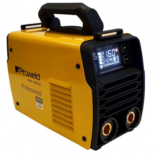 Pachet aparat de sudura Proweld MMA-1600LCD + Masca de sudura Almaz BY433E-CENTAURY + 1Kg Electrozi rutilici Proweld 2.5mm 1